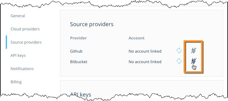 Configure Automated Builds from GitHub and BitBucket