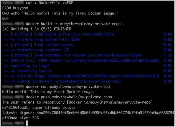 Docker Hub Quickstart | Docker Documentation