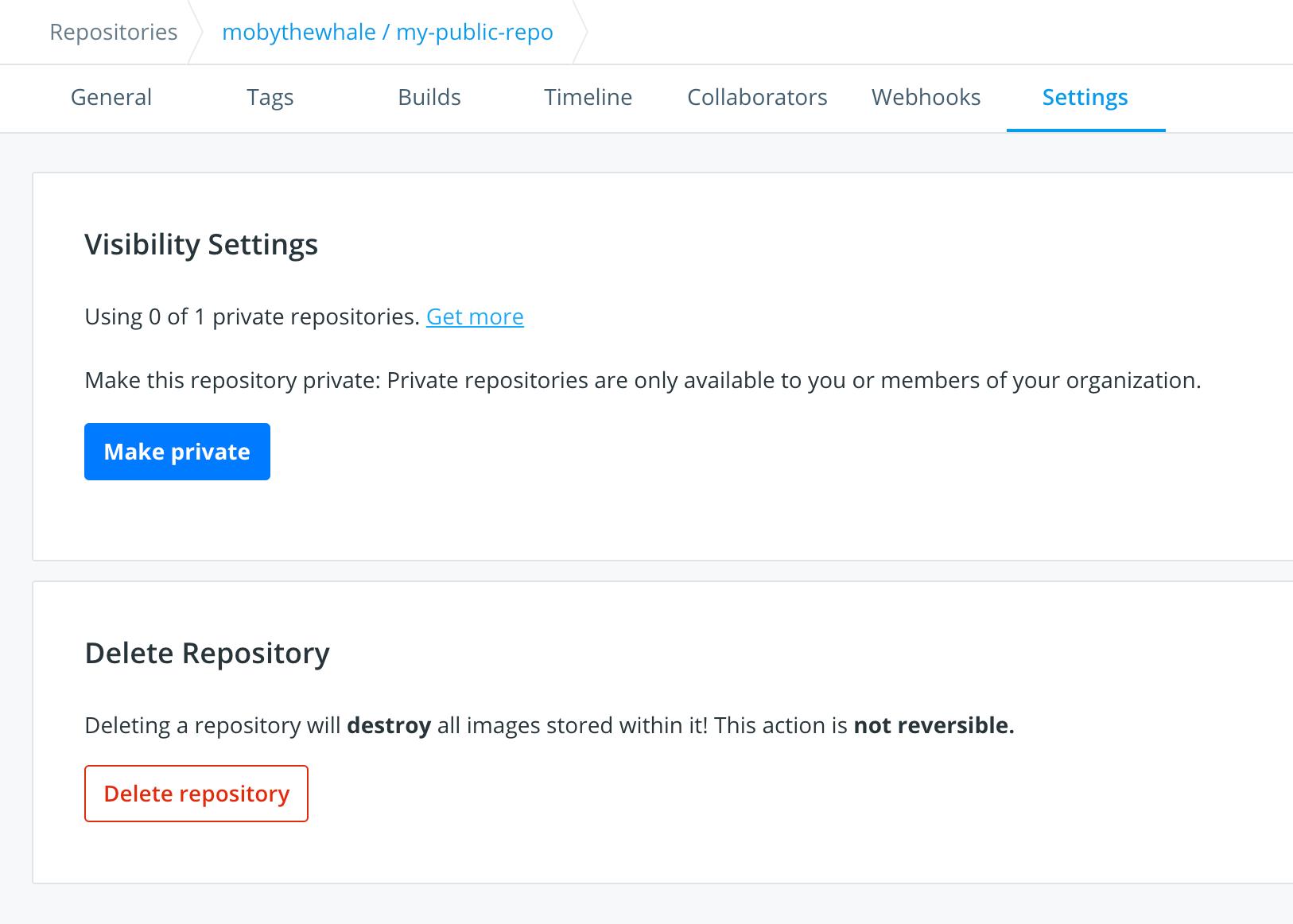 docker hub download image tar