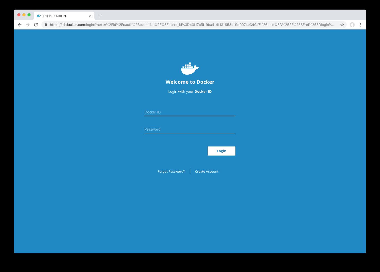 Docker ID accounts | Docker Documentation